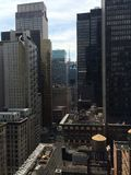 New York. Ma picture of New York, looking towards Time Square Stock Photos