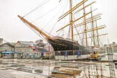 NEW YORK - 22 MAGGIO 2013: Navi nel mare del sud della via di New York Immagine Stock Libera da Diritti