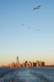 New York, mais baixo manhattan Foto de Stock Royalty Free