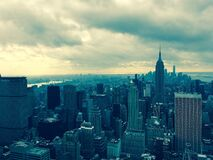 New York and Manhattan Stock Images