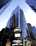 New York Manhattan Big Accounting Firm. The building of Ernst & Young (EY) in Times Square. EY is one of the largest professional services firms in the world and Stock Photo