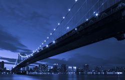 New York Manhattan Bridge Stock Images