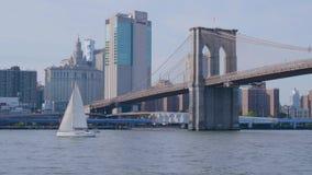 New York Manhattan and Brooklyn Bridge