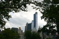 New York , Manhattan, Central Park. Manhattan, New York - nice look from Central Park Stock Image