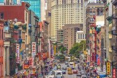 New York, Manhattan, Chinatown Fotografie Stock