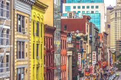 New York, Manhattan, Chinatown Fotografie Stock Libere da Diritti