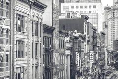 New York, Manhattan, Chinatown Immagini Stock