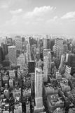 New york: manhattan cityscape Royalty Free Stock Images