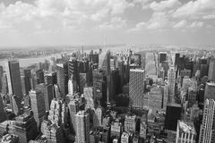 New york: manhattan cityscape Stock Photography