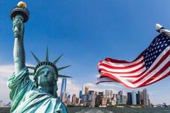 New York, Manhattan du centre images libres de droits