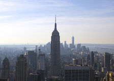 New York Manhattan Empire State Building Royalty Free Stock Photography