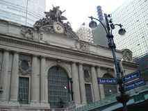 New York. Manhattan. Grand Central Terminal. Stock Image