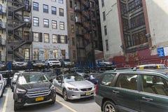New York, Manhattan, het parkeren Royalty-vrije Stock Afbeelding