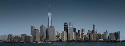 New York, Manhattan inférieure Image libre de droits