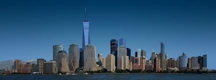 New York, Manhattan inférieure Images libres de droits