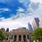 New York Manhattan Public Library Fifth Avenue Royalty Free Stock Photo
