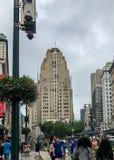 New York, Manhattan, Stati Uniti - luglio 2018 Fotografia Stock Libera da Diritti