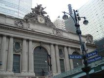 New York manhattan Terminal central grande Imagem de Stock