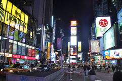 New York Manhattan Times Square Royalty Free Stock Image