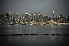 New York Manhattan van het Oosten van de Boulevard JFK stock foto's