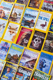 New York - MARCH 7, 2017: National Geographic on March 7 in New Royalty Free Stock Image