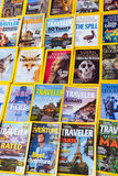 New York - MARCH 7, 2017: National Geographic on March 7 in New Royalty Free Stock Photo