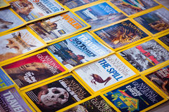 New York - MARCH 7, 2017: National Geographic on March 7 in New Stock Photo