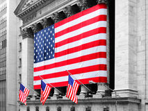 NEW YORK - MARCH 9: New York Stock Exchange on March 9, 2007 in Royalty Free Stock Photography