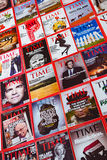 New York - MARCH 7, 2017: Time Magazine on March 7 in New York, Royalty Free Stock Photo