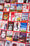 New York - MARCH 7, 2017: Time Magazine on March 7 in New York,. USA. Time magazine is a popular US publication Stock Image