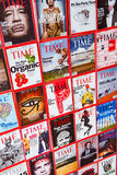 New York - MARCH 7, 2017: Time Magazine on March 7 in New York, Stock Image
