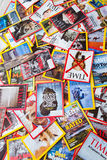 New York - MARCH 7, 2017: US magazines on March 7 in New York, U Royalty Free Stock Photo