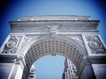 NEW YORK - MARCH 9:  Washington Square Arch on March 9, 2007 in Stock Photography