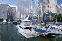 New York marina Stock Images