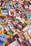 New York - 7 mars 2017 : Magazines des USA le 7 mars à New York, U Photographie stock