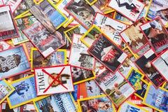 New York - 7 mars 2017 : Magazines des USA le 7 mars à New York, U Photographie stock libre de droits
