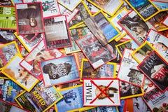 New York - 7 mars 2017 : Magazines des USA le 7 mars à New York, U Photo stock
