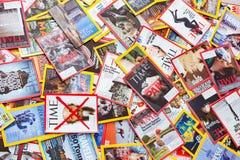 New York - 7 mars 2017 : Magazines des USA le 7 mars à New York, U Image stock