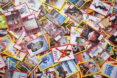 New York - 7 mars 2017 : Magazines des USA le 7 mars à New York, U Photos stock