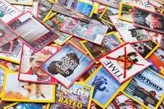 New York - 7 mars 2017 : Magazines des USA le 7 mars à New York, U Images libres de droits