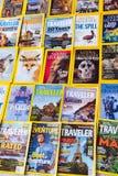 New York - 7 mars 2017 : National Geographic le 7 mars dans nouveau Photo libre de droits