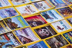 New York - 7 mars 2017 : National Geographic le 7 mars dans nouveau Photo stock