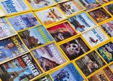 New York - 7 mars 2017 : National Geographic le 7 mars dans nouveau Images stock
