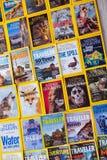 New York - 7 mars 2017 : National Geographic le 7 mars dans nouveau Photos libres de droits