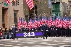 Parata NYC di giorno della st Patricks Immagine Stock Libera da Diritti