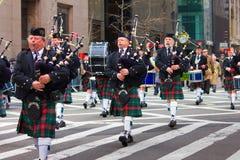 Parata NYC di giorno della st Patricks Fotografia Stock Libera da Diritti