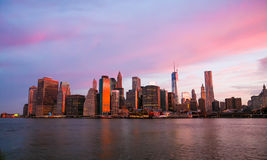 New York megapolis Stock Image