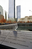 New York 9/11 Memorial at World Trade Center Ground Zero Royalty Free Stock Photos