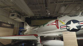 New York, mer intrépide des Etats-Unis, air et musée américain d'histoire de l'espace clips vidéos