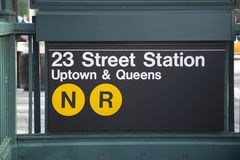New York - metro Fotografia de Stock Royalty Free